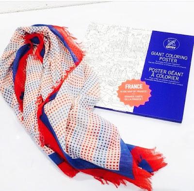 cadeau fête des pères aux couleurs de la France pour soutenir la saison de foot