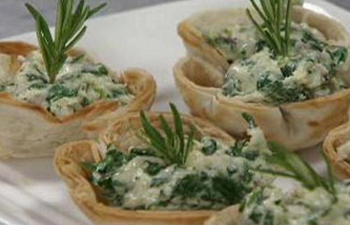 Canapes vegetarianos faciles