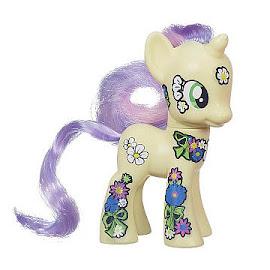 MLP Friendship Blossom Collection Sunshine Petals Brushable Pony