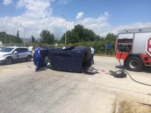 Πρέβεζα: Σοβαρό τροχαίο ατύχημα στην Γέφυρα Καλογήρου στην Πρέβεζα