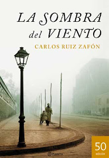 """""""La sombra del viento"""" de Carlos Ruíz Zafón"""