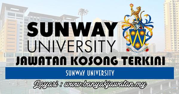 Jawatan Kosong 2017 di Sunway University