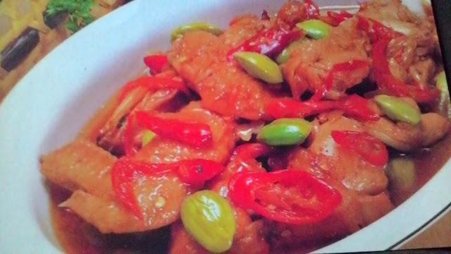 Resep Makanan Nusantara Ayam Pete Bumbu Tongseng Paling Lezat