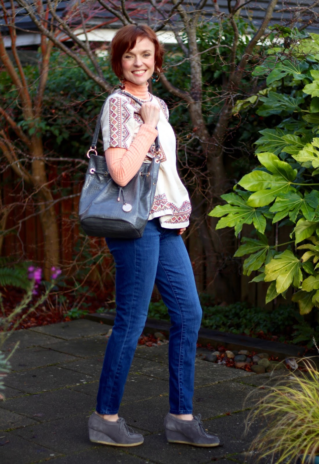 Trying Something New | Aztec Print, Denim and Ugly Shoes! | Fake Fabulous