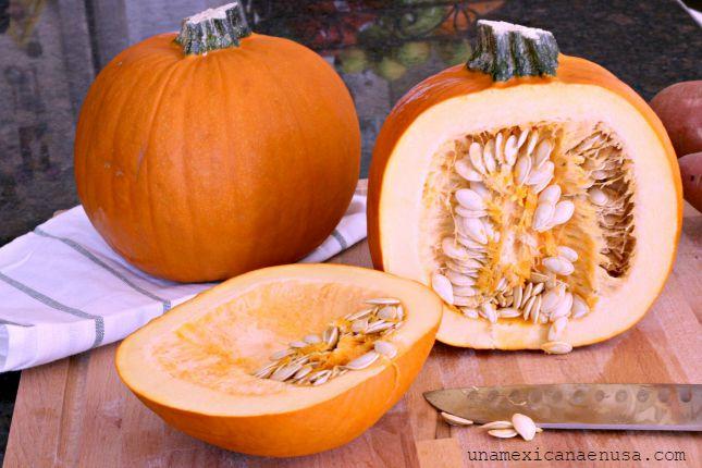 Calabaza y papas con piloncillo inspirada en los aromas del Otoño by www.unamexicanaenusa.com