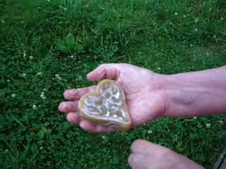 sabonete glicerinado com espuma