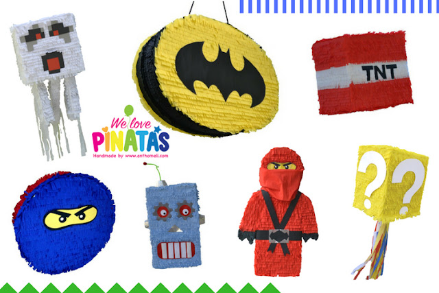 We Love Pinatas Handmade by Anthomeli