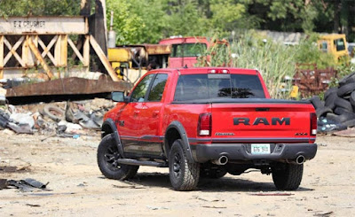 2017 RAM 1500 Concept Redesign