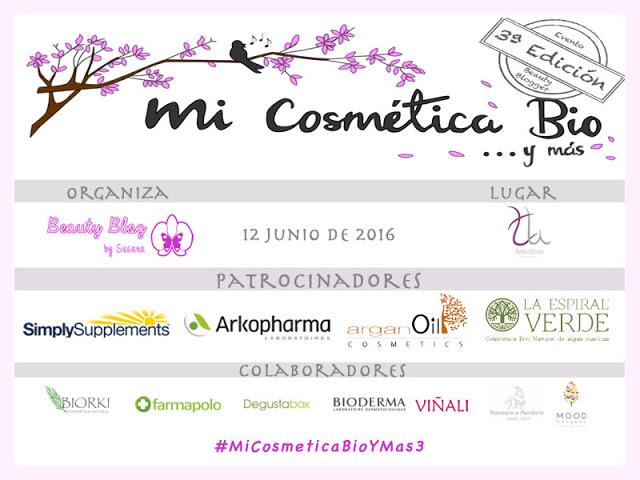 3ª Edición de Mi Cósmetica Bio y ... Más