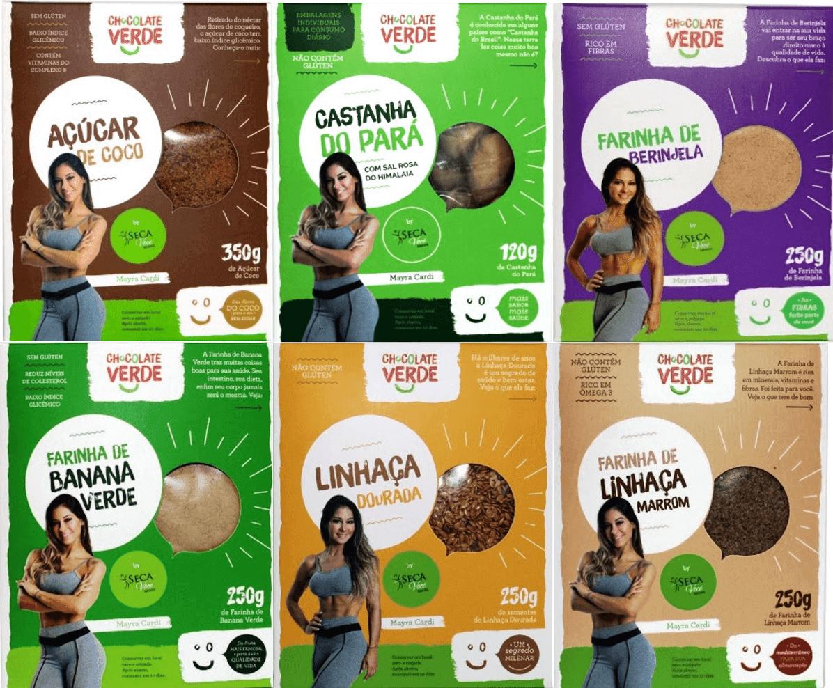 São 12 produtos da marca de alimentação saudável assinados pela 'life coach' e direcionados aos adeptos de uma dieta equilibrada e estilo de vida natural!