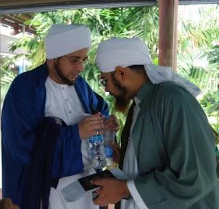 Keajaiban air yang dibacakan doa