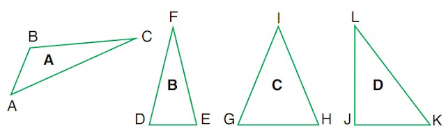 Sifat-sifat Segitiga (Sembarang, Sama Kaki, Sama Sisi, Siku-siku) Matematika Kelas 3 SD