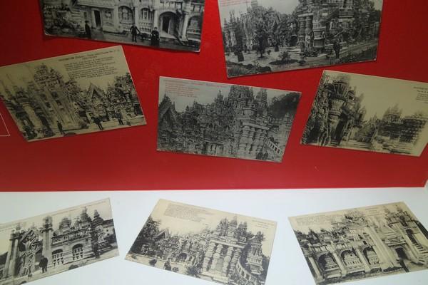 drôme hauterives palais idéal facteur cheval musée carte postale