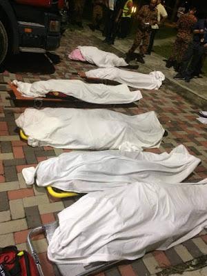 Enam Anggota Bomba Maut dalam Operasi Menyelamat Mangsa Lemas di Puchong