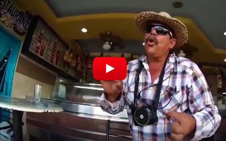 Hasta el cantante callejero Shandy Flow está refugiado en Colombia