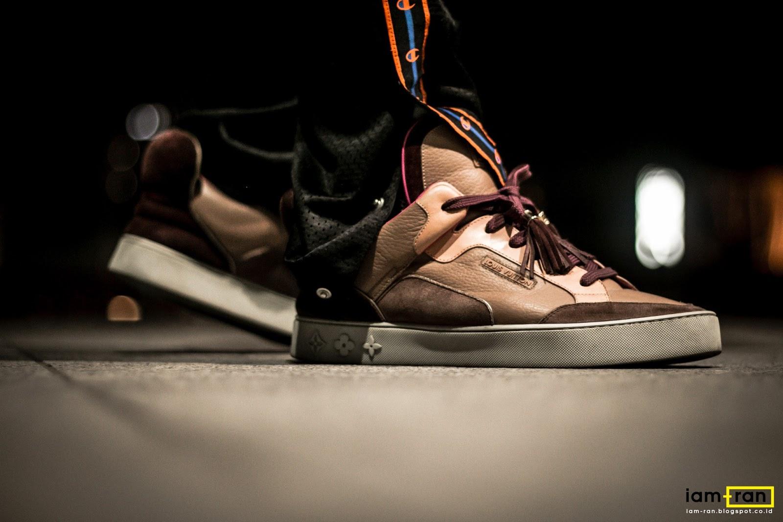 2d3de9784a8f IAM-RAN  ON FEET   Mike - Louis Vuitton X Kanye West Don Brown