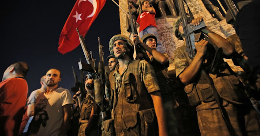 Tee-II: Turkey clamps down after attempted coup; ...thousands of military and judicial personnel arrested