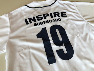 INSPIRES URFBOARD ベースボールTシャツ