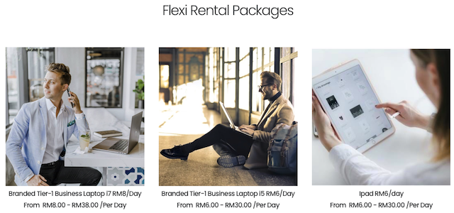 Flexi Rental Packages from SMARTRENTAL