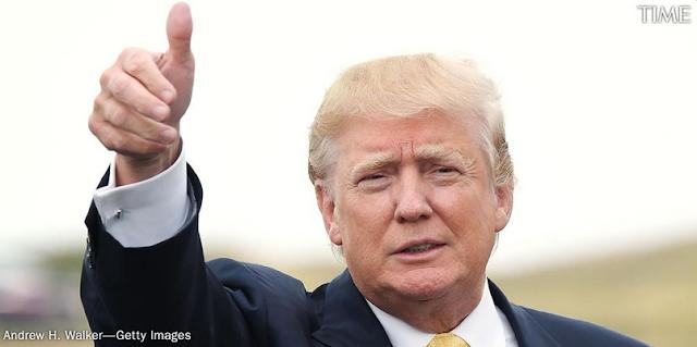 Donald John Trump, POTUS.