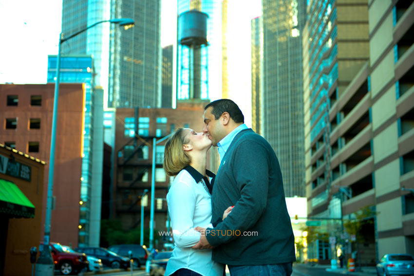Downtown Detroit Engagement - Sudeep Studio.com