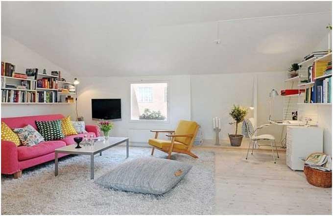 Bild Skandinavische Wohnzimmer Einrichtung