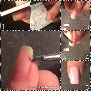 Tutorial passo per passo su come riparare l'unghia rotta.