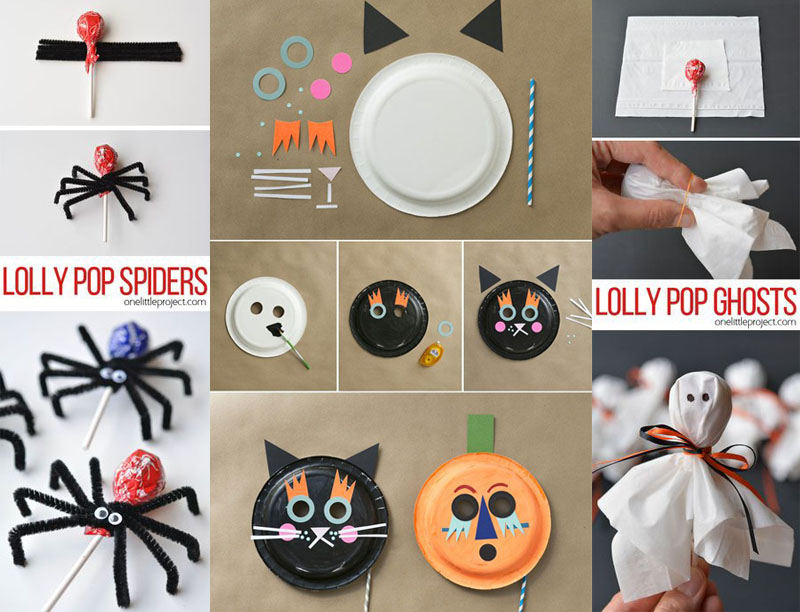 lly pop spiders and gosh on halloween