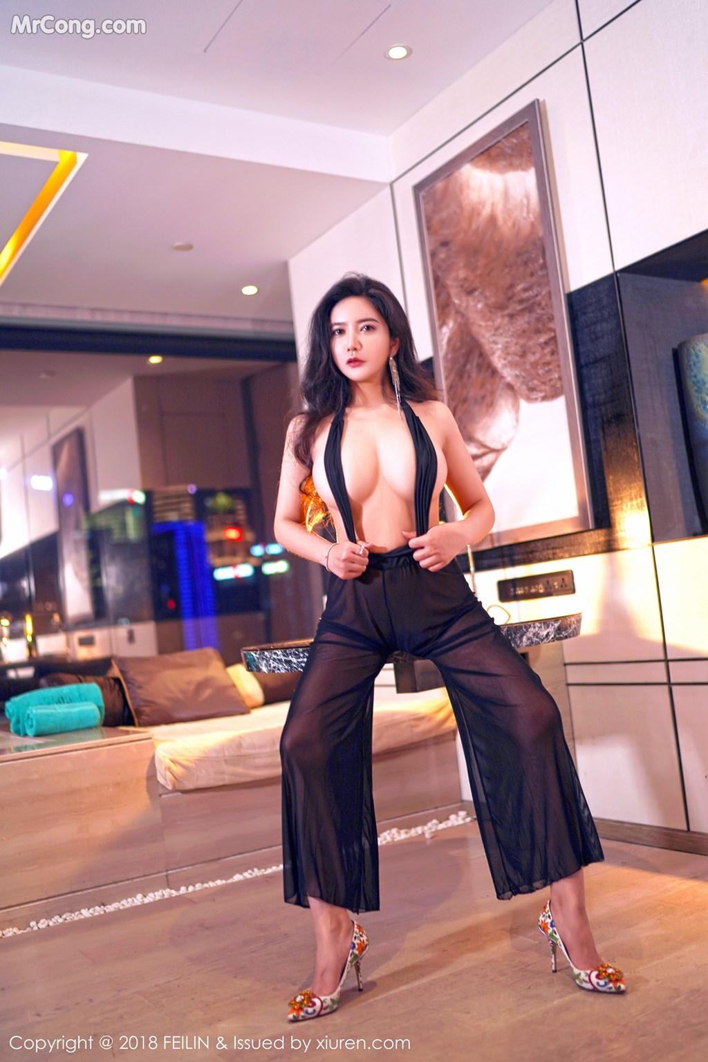 Image FEILIN-Vol.130-Xin-Yan-Gong-Zhu-MrCong.com-006 in post FEILIN Vol.130: Người mẫu Xin Yan Gong Zhu (心妍公主) (39 ảnh)