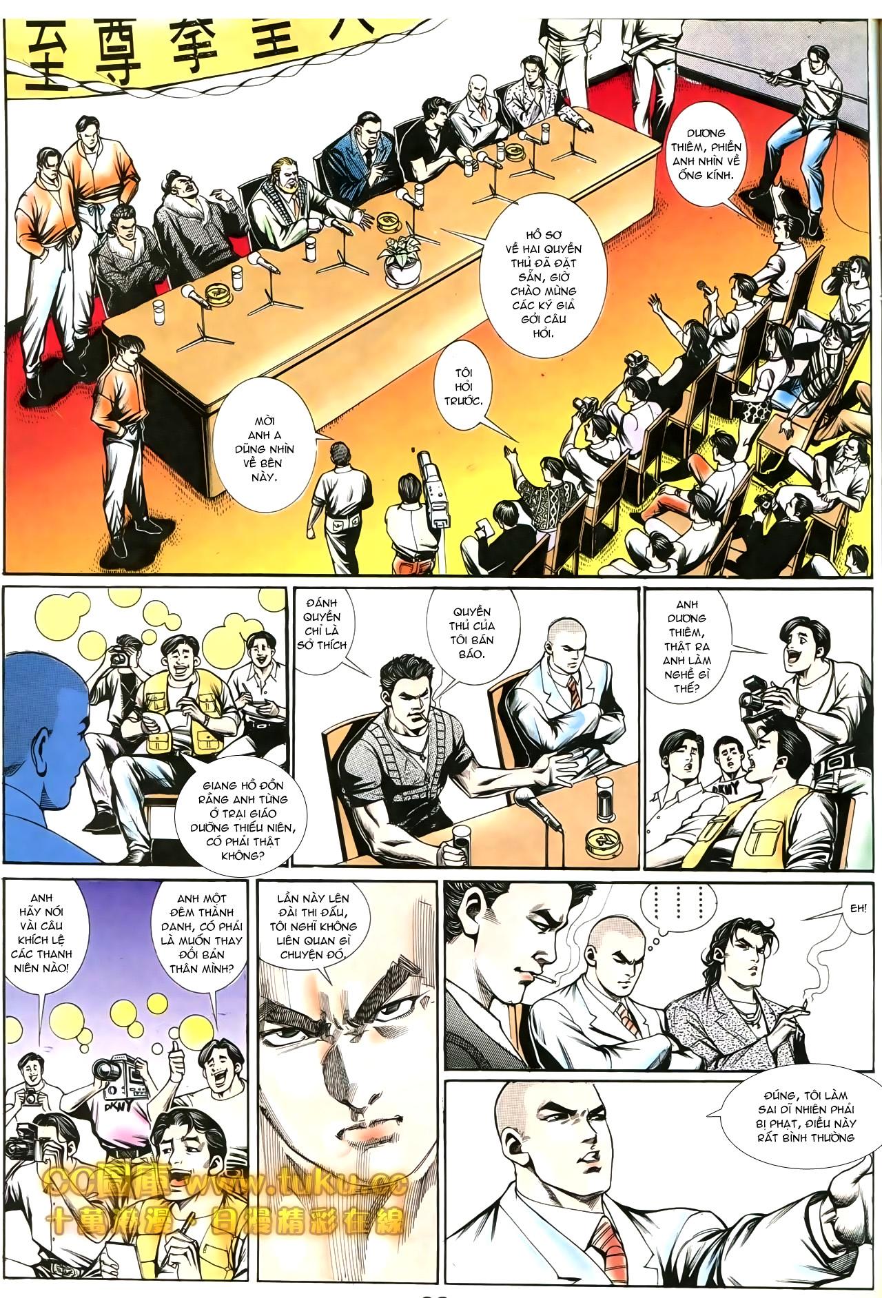 Người Trong Giang Hồ chapter 194: ngờ vực của đại phi trang 8