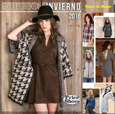 Catalogo Ropa de Mujer Price Shoes 2016