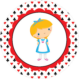 Alice Baby: Free Printable Wrappers and Toppers for Cupcakes.
