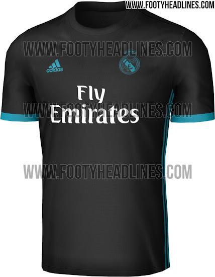 Segunda equipación Real Madrid 17-18. Esta es la camiseta visitante adidas  del Real Madrid para la próxima campaña 667a41ad37bc1