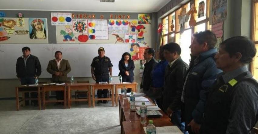 Reanudan clases en la UGEL Marañón después de 12 horas de diálogo entre la DRE, autoridades locales y el SUTE