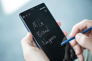 Samsung Galaxy note 9 photos