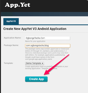 How To Create and Monetize a Free App For Your Blog Using AppYet