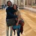 Juntos pela primeira vez em Paris, Fátima Bernardes e Túlio Gadêlha visitam o Louvre