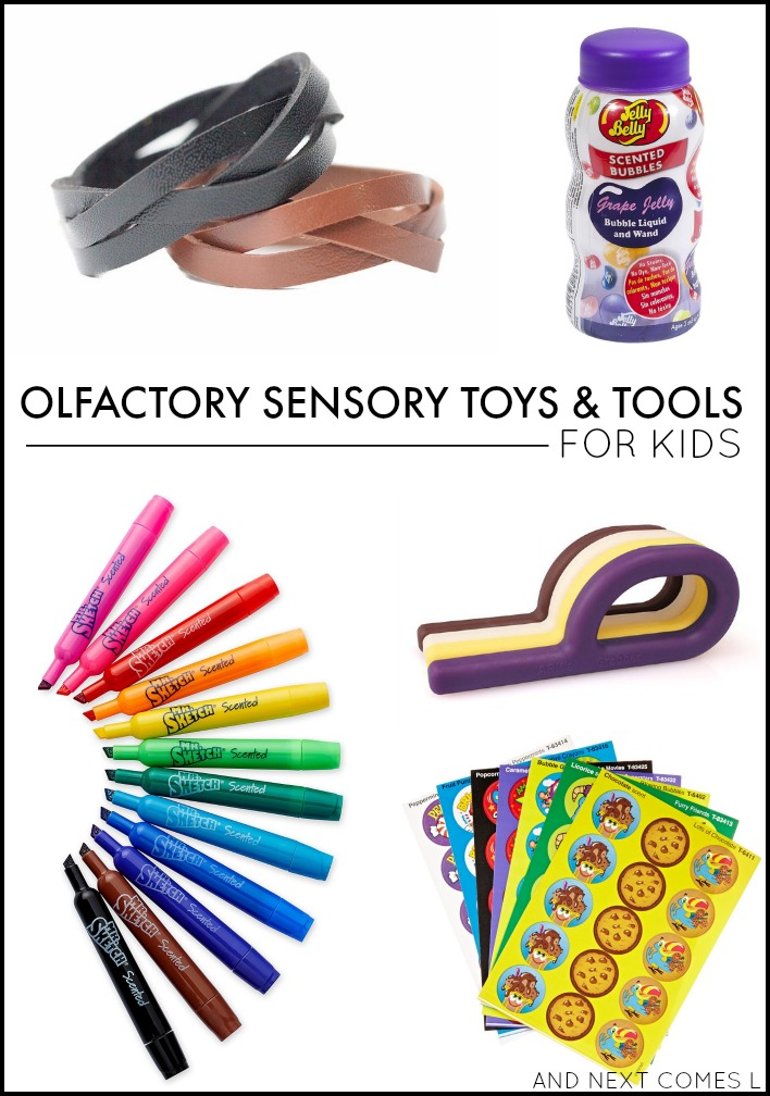 Sensory Toys Autism : Olfactory sensory toys tools for kids and next comes l