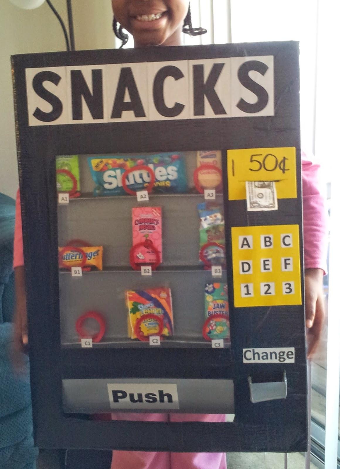 tomiegyrl home made vending machine costume