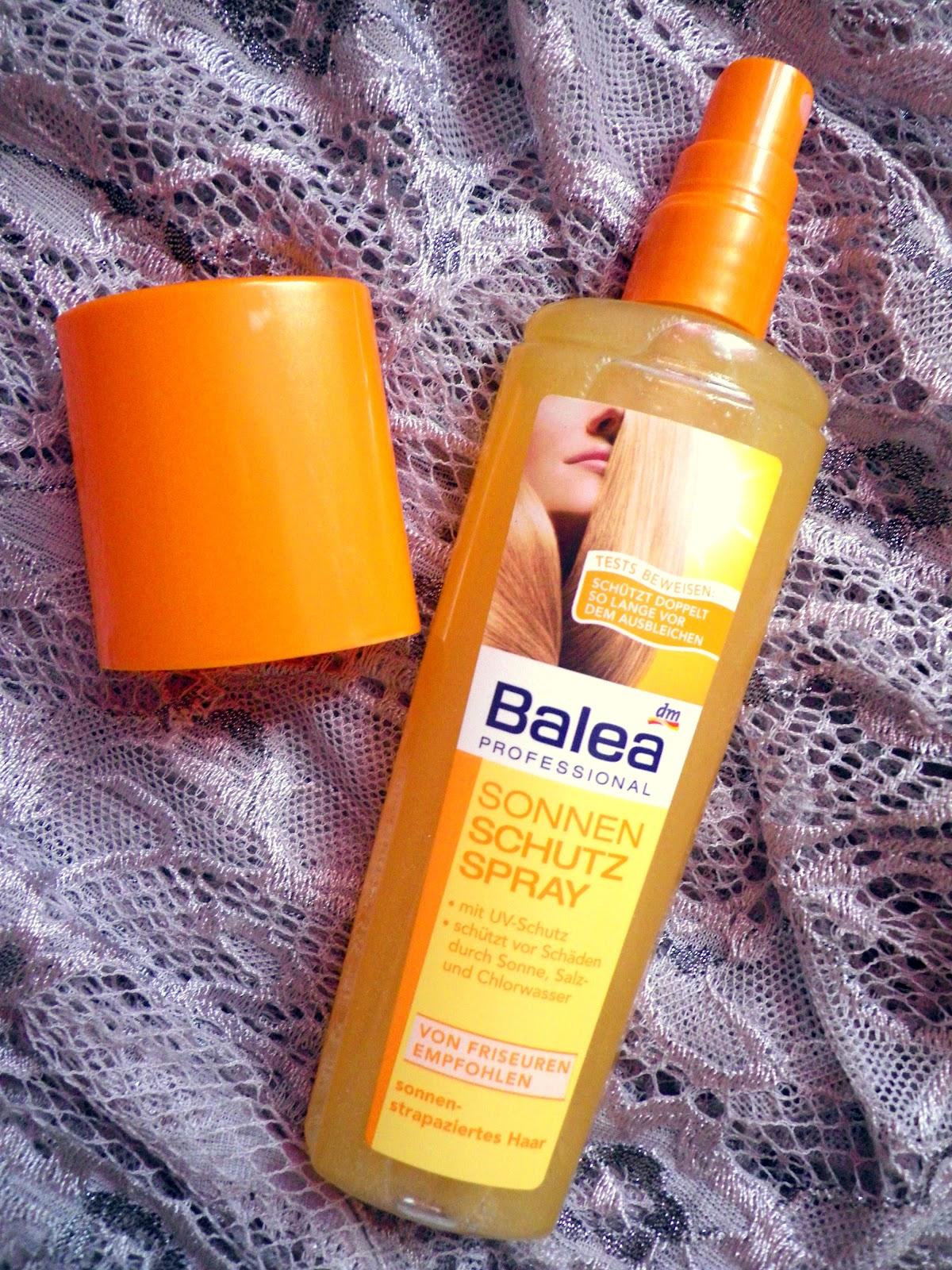 Liana Laurie Balea Sonnenschutzspray Schützt Eure Haare
