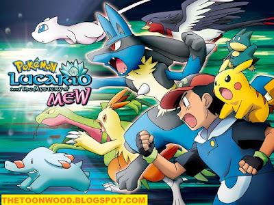 "Pokémon: Lucario and the Mystery of Mew"" In HINDI Full movie In 1080p Hd Only On TOONWOOD"
