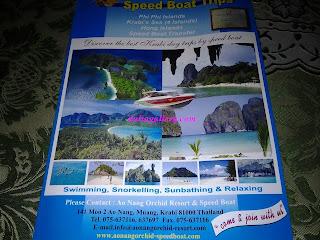 Brochure Pulau Krabi, Thailand