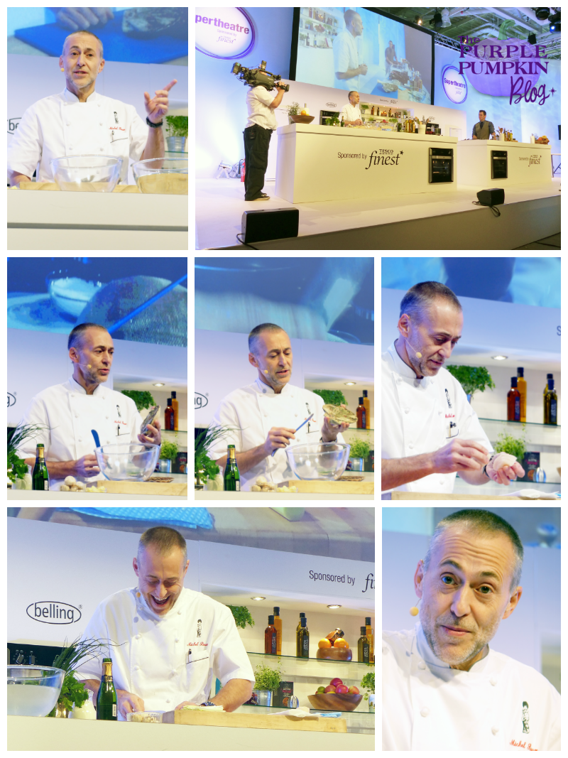 Michel Roux Jr at BBC Good Food Show, London