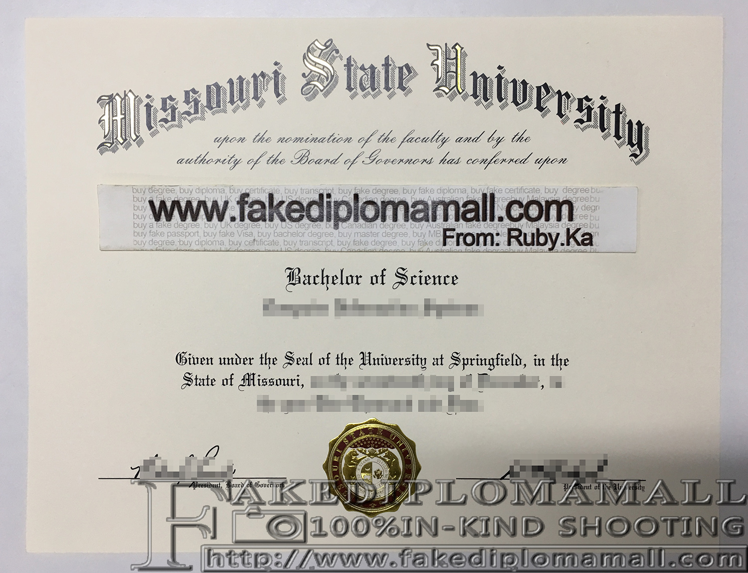 How to buy a fake diploma online: 2017