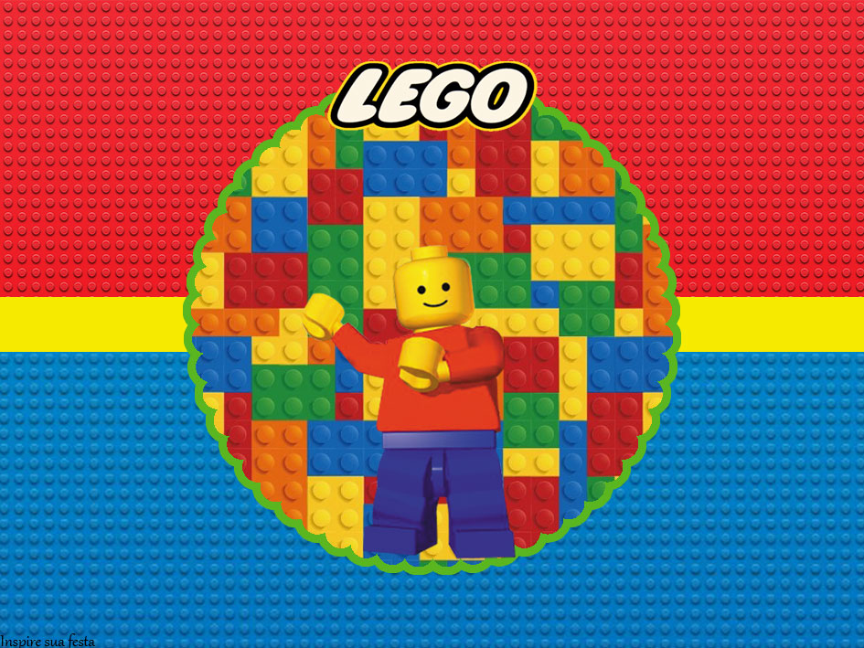 Fiesta De Lego Invitaciones Para Imprimir Gratis Oh My