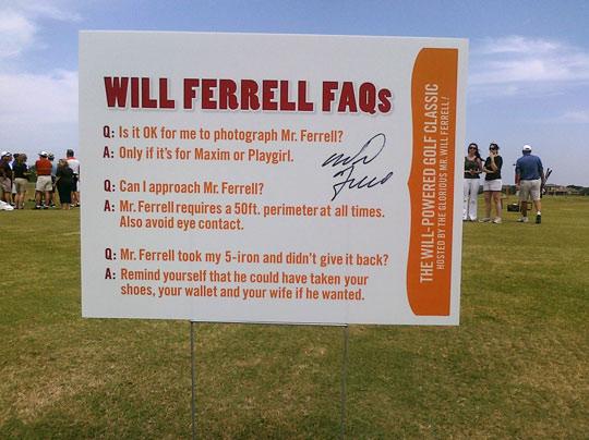 will ferrell faqs