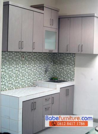 Babe furniture jasa pembuatan kitchen set pondok indah for Jual kitchen set aluminium