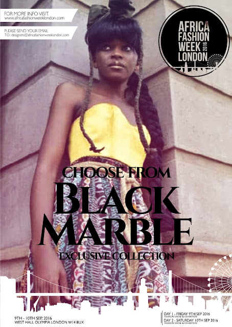 Black Marble to showcase at AFRICA FASHION WEEK 2016