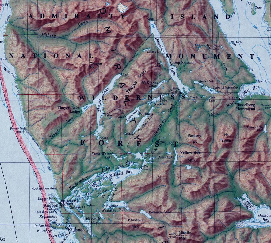 Northwest Explorer Cross Admiralty Island Canoe Route 92 04