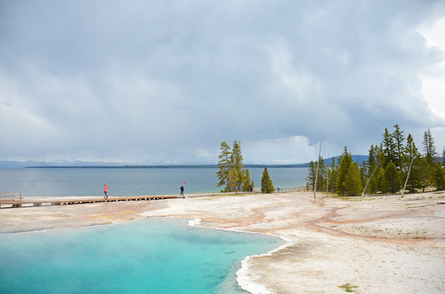 West Thumb, Yellowstone National Park, Wymoing, USA